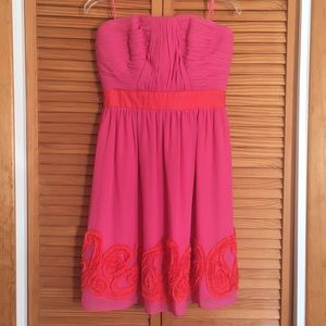 🌹hot pink🌹Miss Sixty pink staples dress